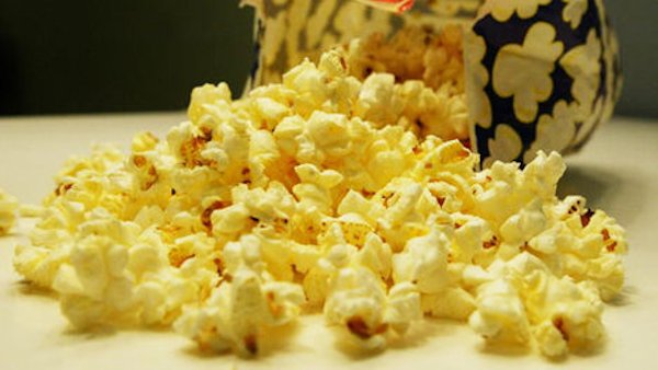 Image result for microwave popcorn with butter pic